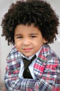 Child Modeling Headshot