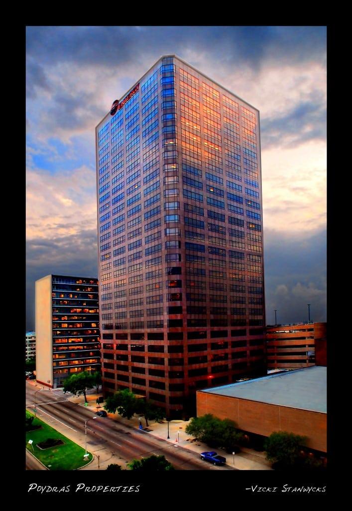 Exterior Architecture Photography, Corporate Building Photography, Entergy Center